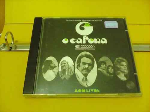 o cafona - cd novela