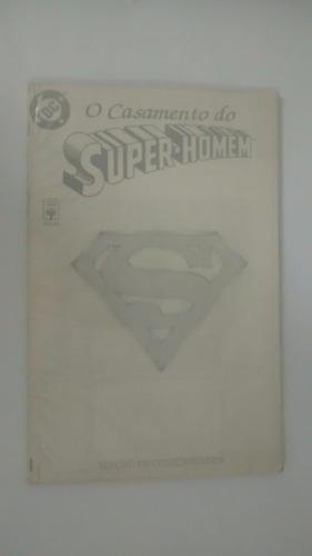 o casamento do super-homem - edição de colecionador