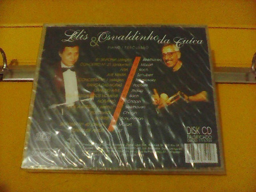 o clássico visita o samba - lelis & osvaldinho da cuíca - cd
