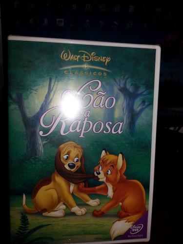 o cão e a raposa-1a.edição-dvd lacrado disney-dubl/legend