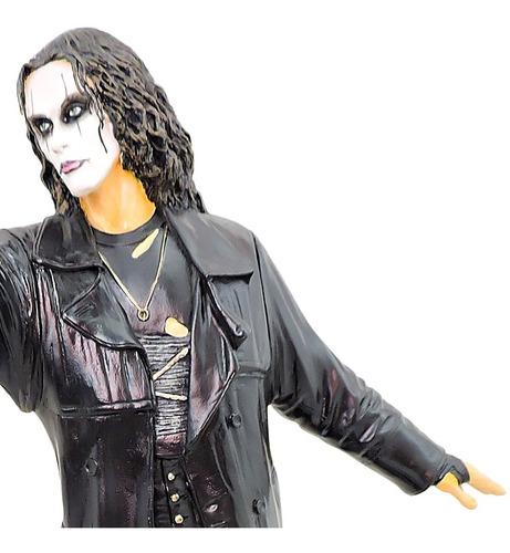 o corvo the crow eric draven boneco artesanal   frete grátis