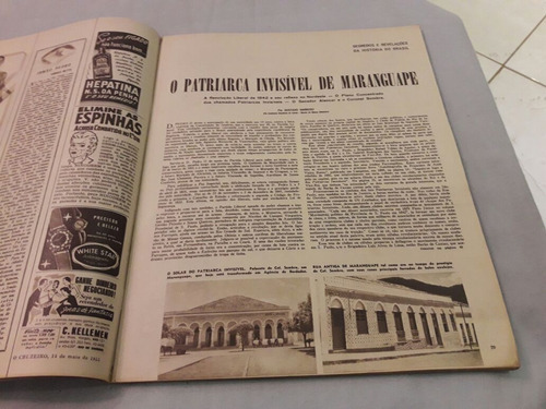 o cruzeiro 14/05/55 miss brasil 1955/candomblé da bahia