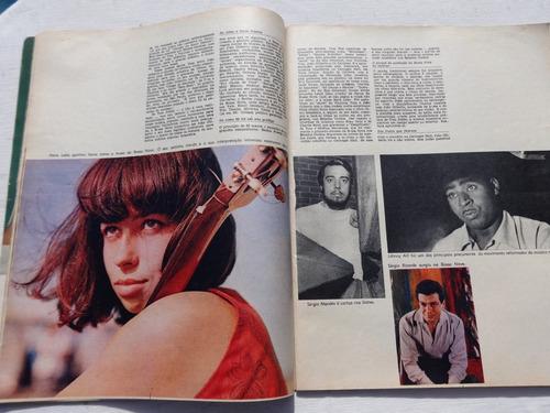 o cruzeiro nº 49: miss universo - nara leão - botafogo -1967