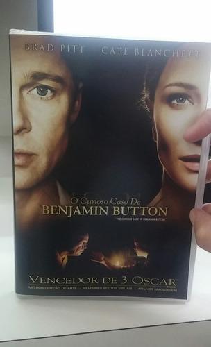 o curioso caso de benjamin button -dvd -original