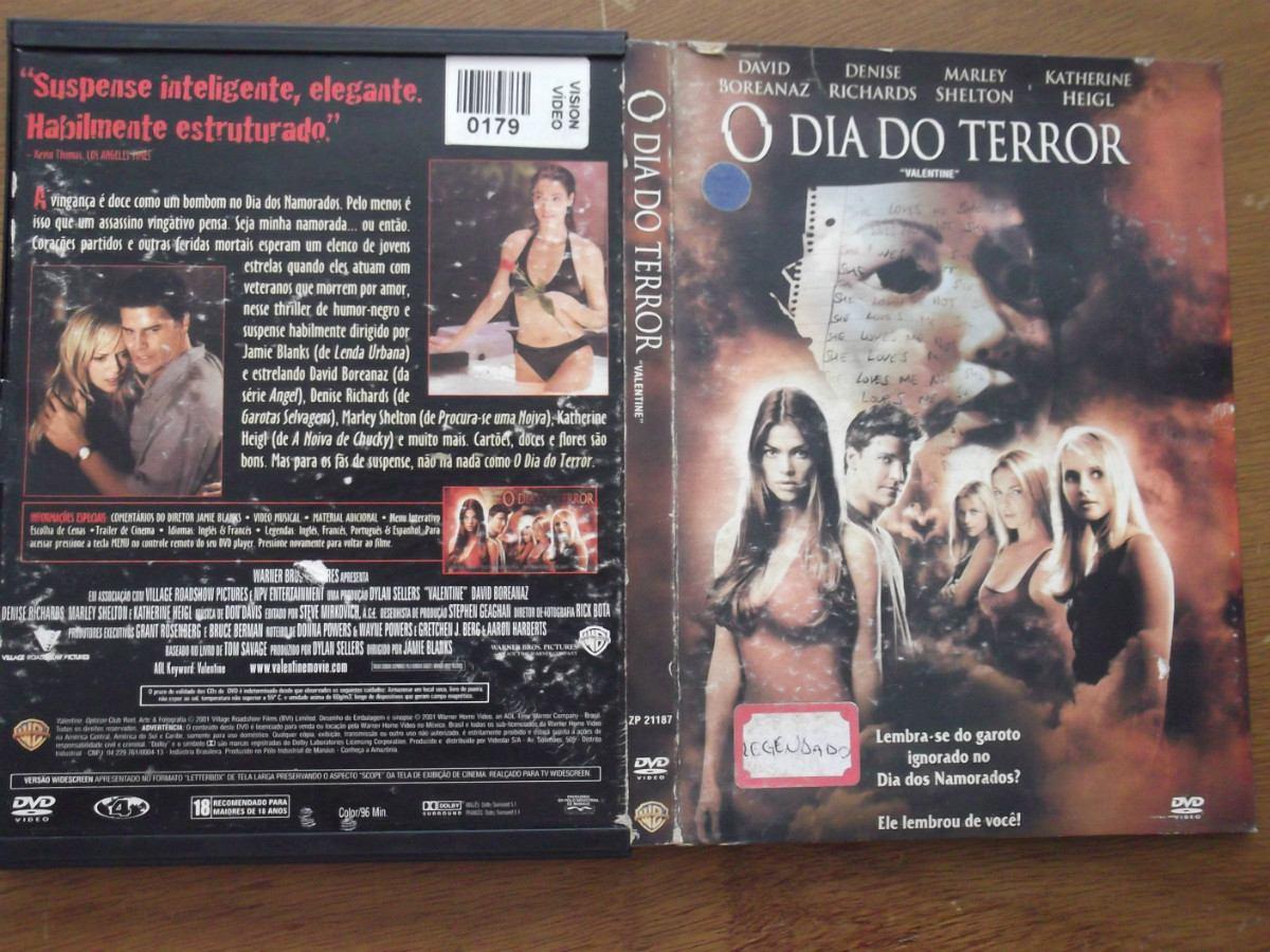 Filme O Dia Do Terror with o dia do terror - filmes legendados - r$ 11,90 em mercado livre