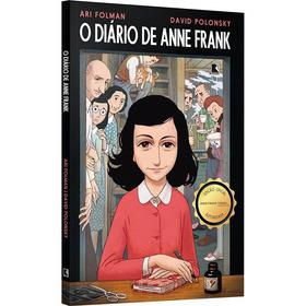 O Diário De Anne Frank Em Quadrinhos  Novela Gráfica  Guerra