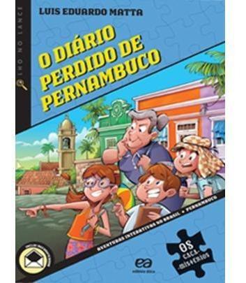 o diário perdido de pernambuco - col. os caça-mistérios