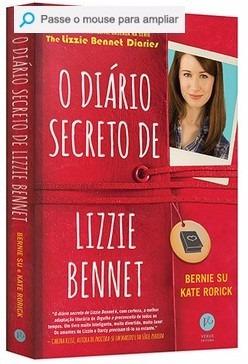 o diário secreto de lizzie bennet novo e lacrado