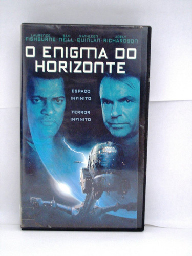 o enigma do horizonte vhs