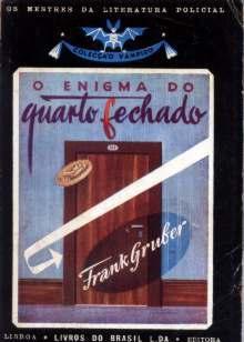o enigma do quarto fechado - frank gruber - col. vampiro 51