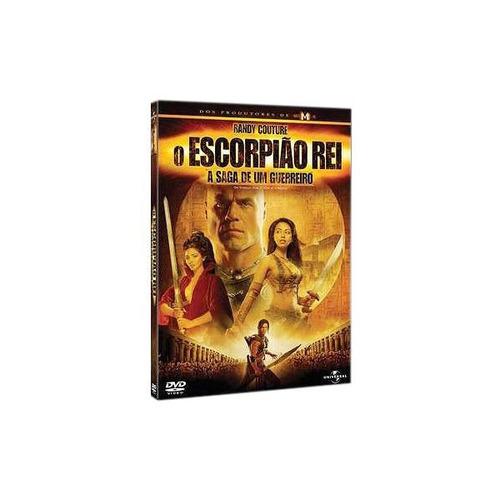 o escorpião rei a saga de um guerreiro dvd