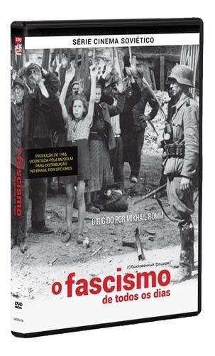 o fascismo de todos os dias - dvd - mikhail romm - novo