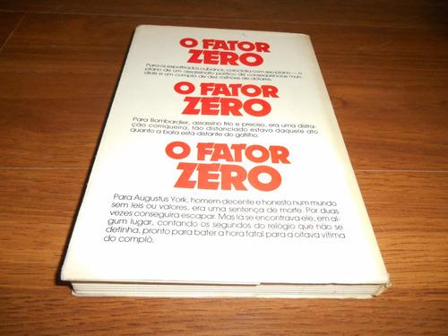 o fator zero - william oscar johnson