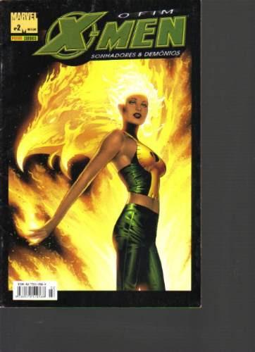 o fim x-men sonhadores e demônios em 3 edições-panini comics