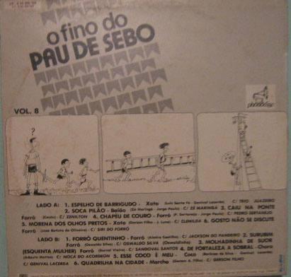 o fino pau de sebo - volume 8 - 1986