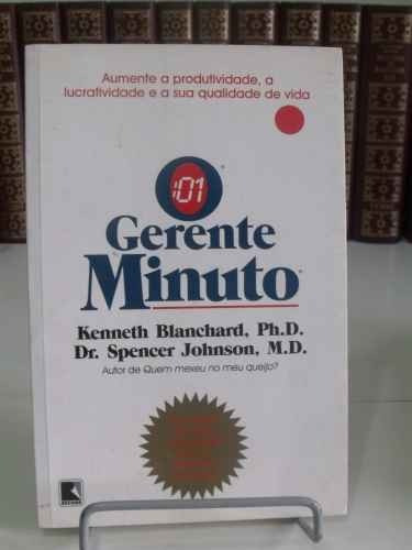o gerente minuto - kenneth blanchard e spener johnson