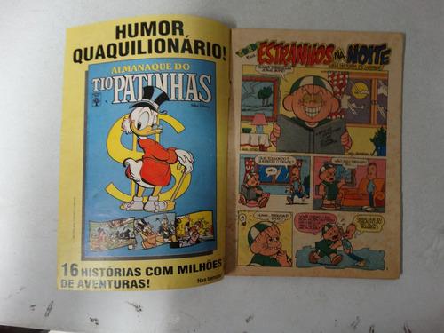 o gordo e cia em quadrinhos nº 16! ed. abril 1987!