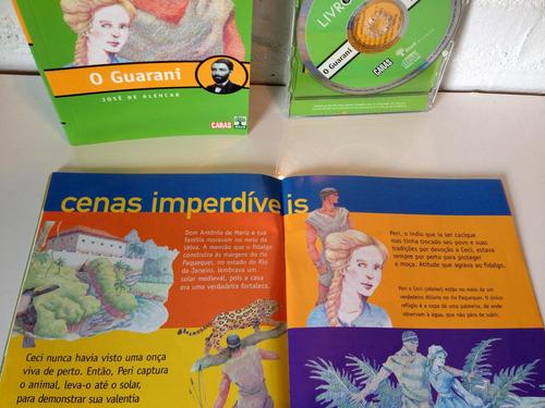 o guarani - josé de alencar (livro + cd) literatura cód.609