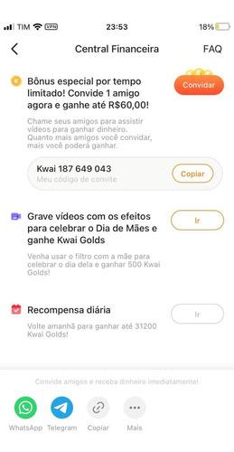 o gustavo mee fez 200 mil em 15 dias, usando esses apps.
