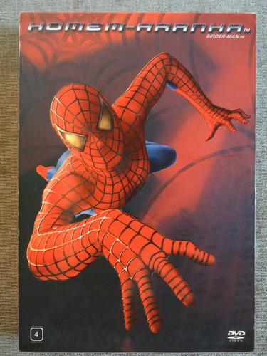 o homem aranha - dvd duplo c/ luva