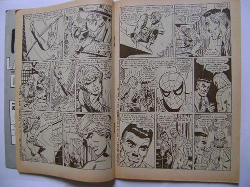 o homem aranha no.32 (1a.série) nov 71 ebal leia descrições!