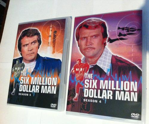 o homem de seis milhões de dólares temp. 4 e 5 em inglês