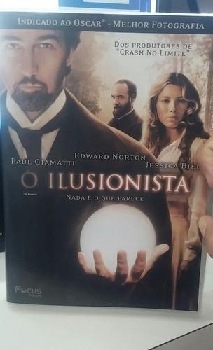 o ilusionista -edward norton -jessica biel -dvd