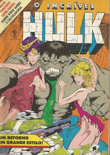 o incrivel hulk 102 - abril - bonellihq cx11 b19