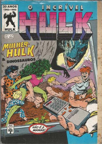 o incrivel hulk 114 - abril - bonellihq cx40 e19