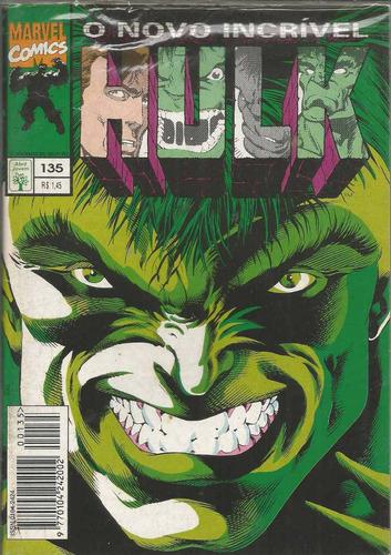 o incrivel hulk 135 - abril - bonellihq cx40 e19