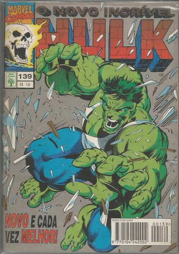 o incrivel hulk 139 - abril - bonellihq cx40 e19
