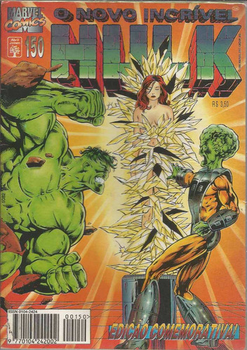 o incrivel hulk 150 - abril - bonellihq cx40 e19