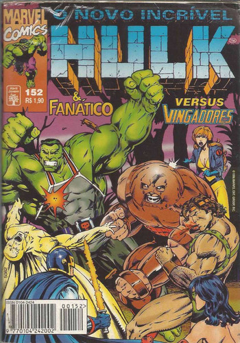 o incrivel hulk 152 - abril - bonellihq cx40 e19