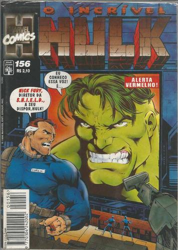o incrivel hulk 156 - abril - bonellihq cx40 e19