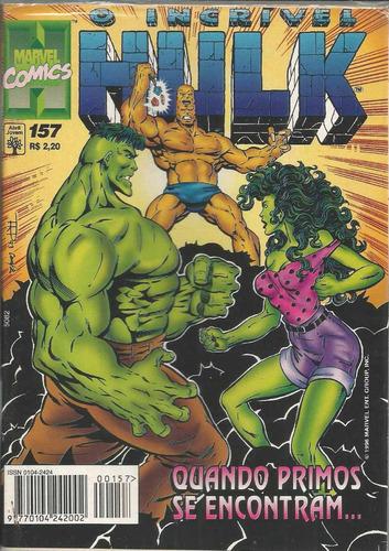 o incrivel hulk 157 - abril - bonellihq cx40 e19