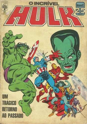 o incrivel hulk 36 - abril - bonellihq cx42 e19