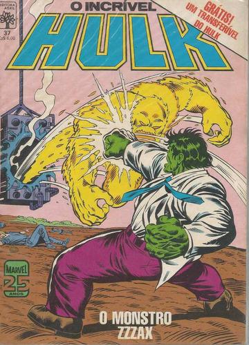 o incrivel hulk 37 - abril - bonellihq cx42 e19
