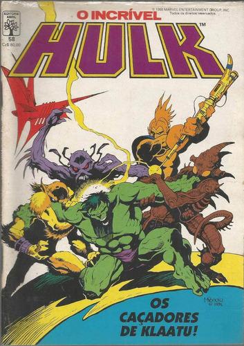 o incrivel hulk 58 - abril - bonellihq cx40 e19