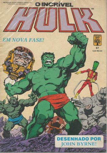 o incrivel hulk 67 - abril - bonellihq cx42 e19