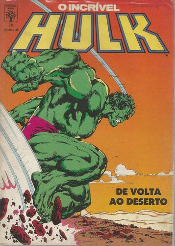 o incrivel hulk 70 - abril - bonellihq cx42 e19