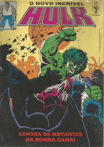 o incrivel hulk 85 - abril - bonellihq cx268 d18