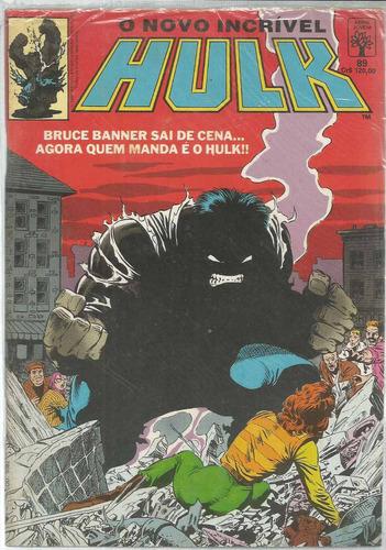 o incrivel hulk 89 - abril - bonellihq cx55 f19
