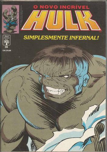 o incrivel hulk 96 - abril - bonellihq cx40 e19
