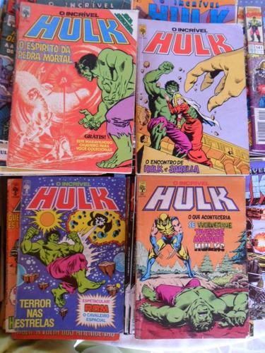 o incrível hulk! editora abril! 8,00 cada!