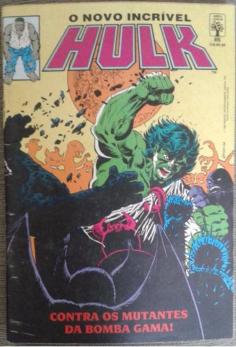 o incrível hulk editora abril  nº 85 ano 1990