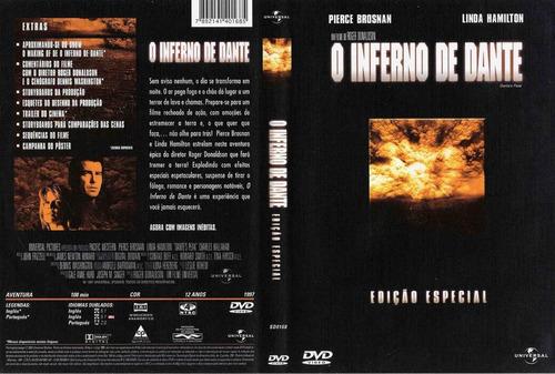 o inferno de dante pierce brosnan dvd original novo lacrado