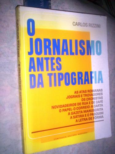 o jornalismo antes da tipografia
