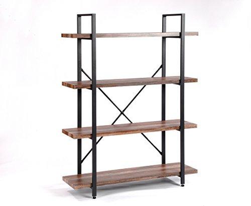 o & k furniture librerías de 4 niveles y estantes para libro