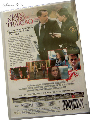 o lado negro da traição dvd novo lacrado original