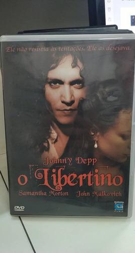 o libertino -johnny depp -dvd